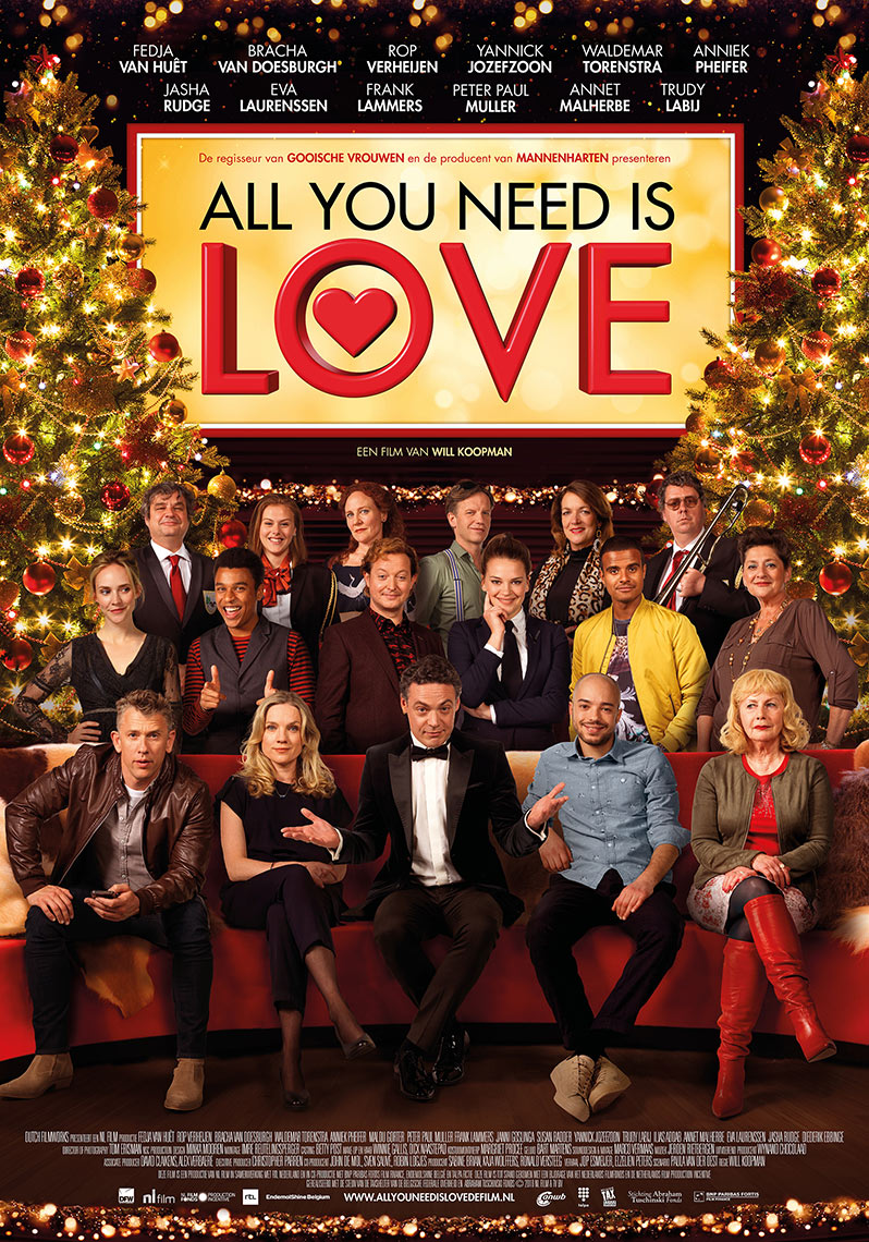Filmposter All you need is love